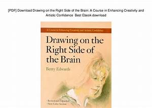Drawing On The Right Side Of The Brain Pdf At Getdrawings