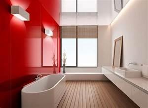 Bad Wandverkleidung Kunststoff : badezimmer ohne fliesen ideen f r fliesenfreie wandgestaltung ~ Sanjose-hotels-ca.com Haus und Dekorationen