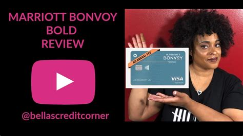 Is there any marriott amex no fee card to downgrade it to later. Marriott Bonvoy Bold Credit Card review (2019) - YouTube