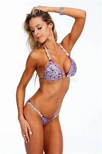 Young Athletic Girl With Body In Bikini  Stock Image
