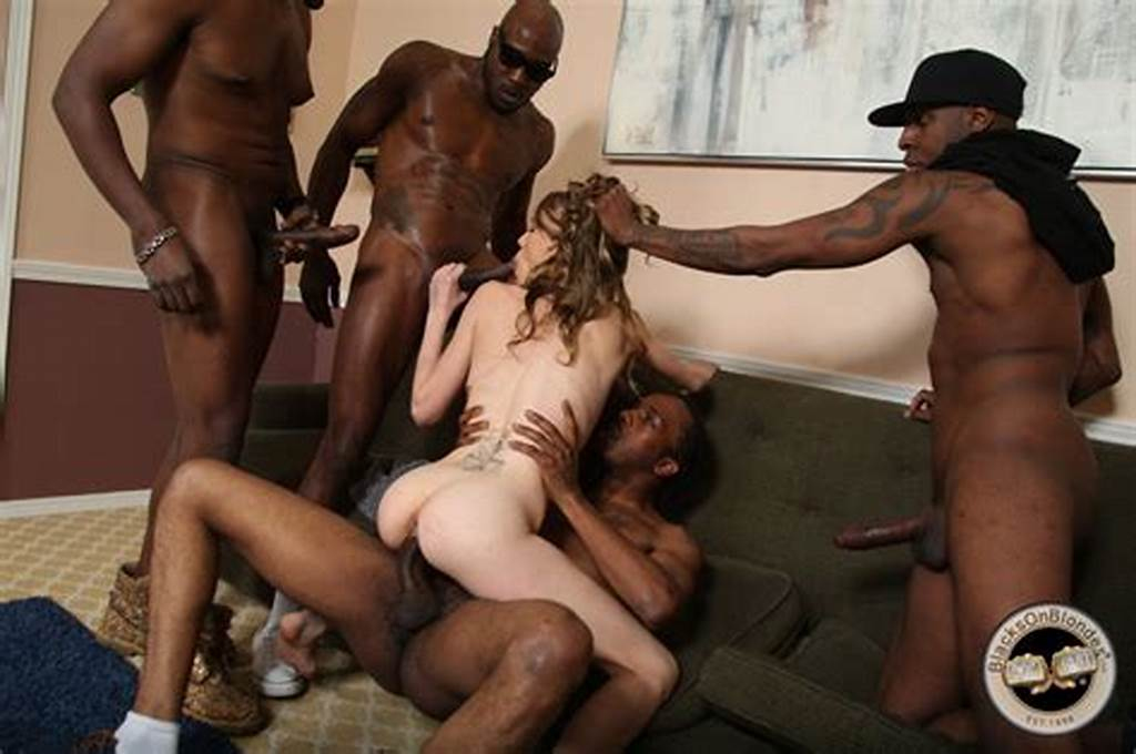 #Slender #White #Cutie #Beckie #Lynn #Gang #Banged #By #Black #Thugs