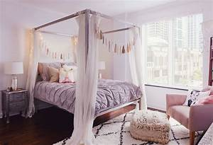 Bohemian, Bedroom, Inspiration, Four, Poster, Beds, With, Boho