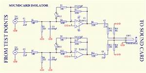 Isolator Circuit For Soundcard Protection