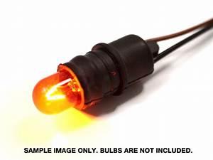 T10 194 168 W5w Rubber Bulb Sockets W   Pigtail Wiring