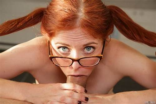 Penny Pax Fucking A Load On Her Bush #Penny #Pax #Bespectacled #Redhead #Receives #Mouthful #Of #Cum