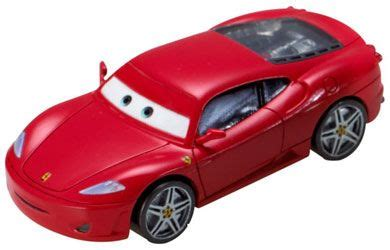 He loves changing tires for racecars like lightning mcqueen, but nothing makes him happier than when a real ferrari comes through his door. disney Pixar Cars - Diecast - Ferrari F430 Race in style ...
