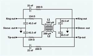 File Artificial Telephone Line 6000ft  24 Gauge  Schematic