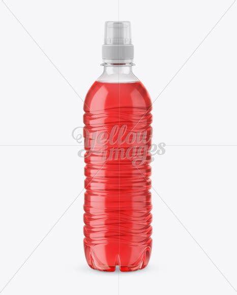 Bottle cola mockup template bottle cola mockup template graphics files included photoshop psd. Download Red Drink PET Bottle With Sport Cap Mockup PSD