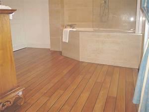 entretien parquet teck salle de bain comment procder la With entretien parquet en teck