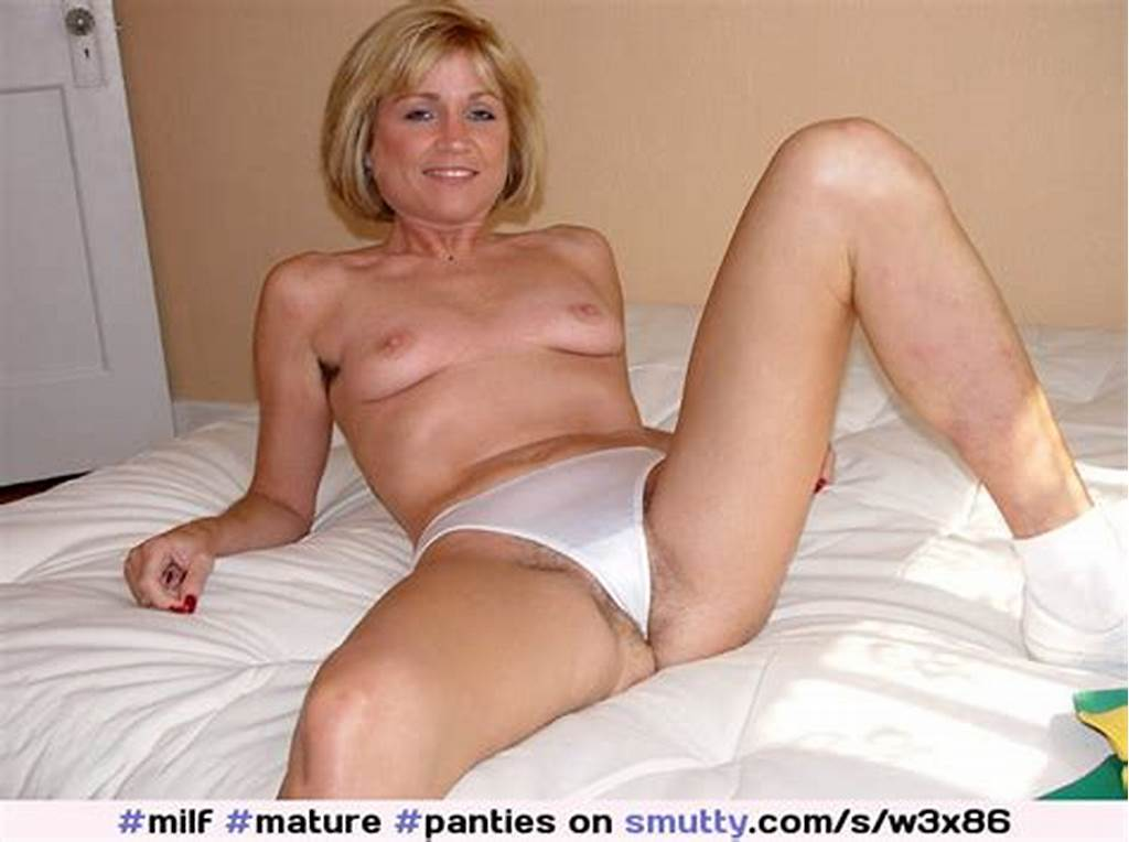 #Milf ##Mature ##Panties ##Thong ##Spread ##Hairy ##Blonde ##
