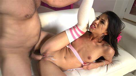 Large Tiny In Shiny Undies Getting Her Sultry Pussy