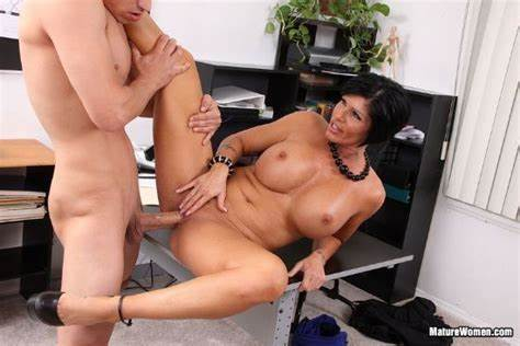 Shy Milf Masturbating Her Boss Well