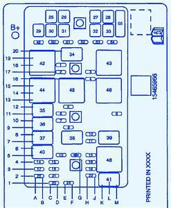 Pontiac Montana 2004 Fuse Panel Fuse Box  Block Circuit Breaker Diagram