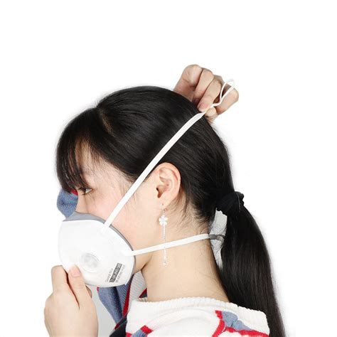 Ķīnai pielāgots 3D kronšteins Personal KN95 facehield ...