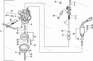 Arctic Cat Atv 2003 Oem Parts Diagram For Carburetor