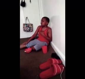 This Is Horrible: Mother Beat Her Son So Bad He Threw Up!