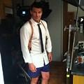David Boreanaz Boxers